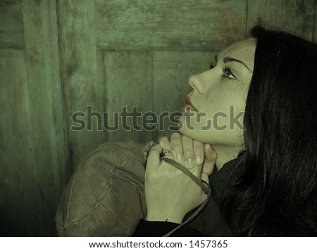 stock photo : Women praying for help