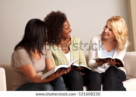 Women Reading Stock photo ©