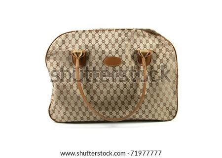 women's handbag isolated on white background