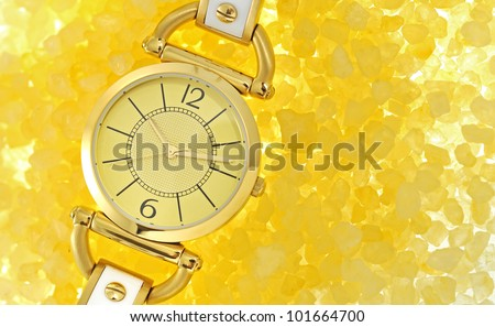 women's luxury gold wrist watch