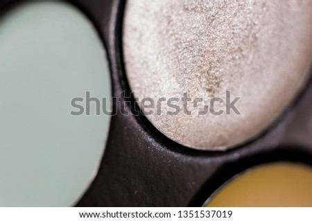 Women's make-up, decorative cosmetics - colorful eyeshadow palette #1351537019