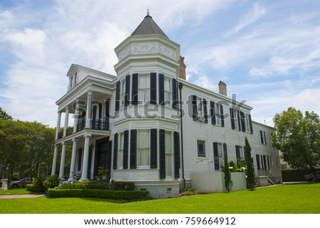 Women's Opera Guild Home on 2504 Prytania Street in Garden District, New Orleans, Louisiana, USA.