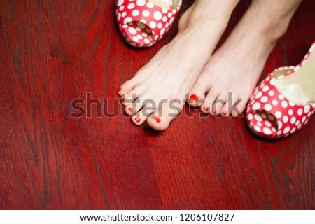 Women's shoes, a pair of shoes, high-heeled shoes, a pair of shoes,  #1206107827