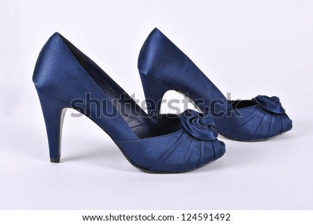Women's shoes on the heel