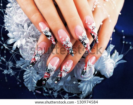 Women\'s Studio Nails. Included in my set \