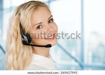 Women, Service, Customer Service Representative.