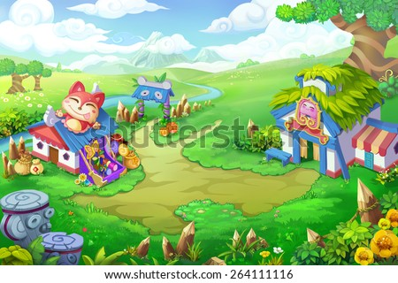 Wonder Land Scene Design