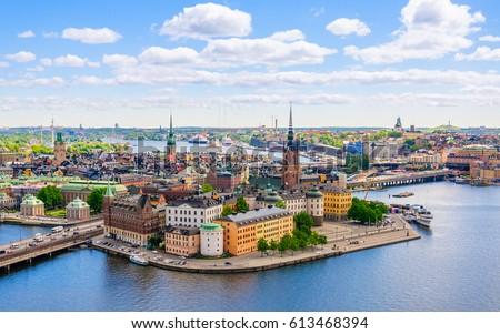 wonderful aerial panorama from...