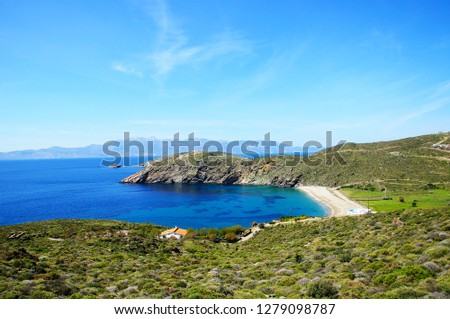 Wonderful Andros beaches #1279098787