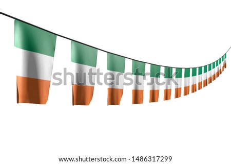 wonderful any feast flag 3d illustration