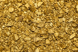 wonderful Background with a lot of gold nuggets