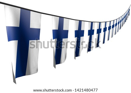 wonderful celebration flag 3d illustration