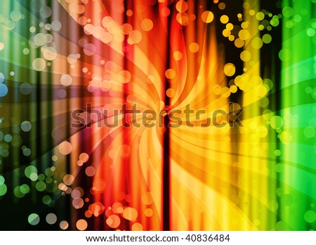 wonderful curtain with water bubbles - similar images available