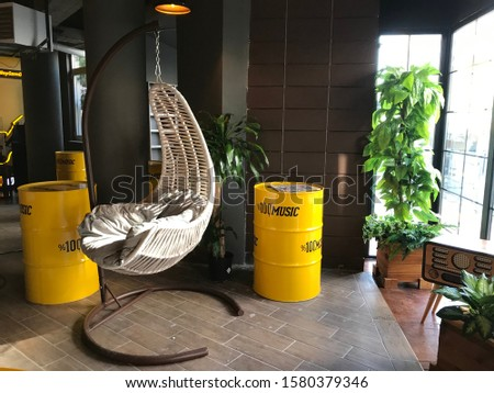 wonderful interesting background image made of decorative decoration decorative barrels composition. #1580379346