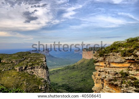 Wonderful Landscape in Brazil - Chapada Diamantina .