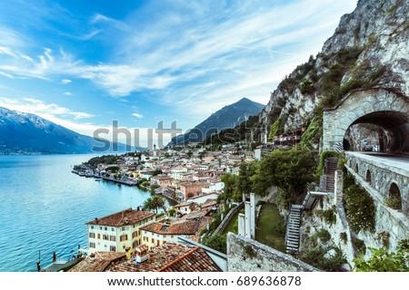 Shutterstock Wonderful Panorama of Limone sul Garda. Lake Garda Italy