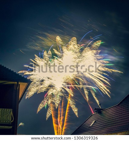 Wonderful Silvester fireworks #1306319326