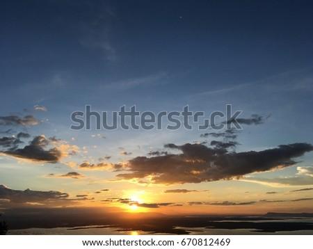 Wonderful Sunset #670812469