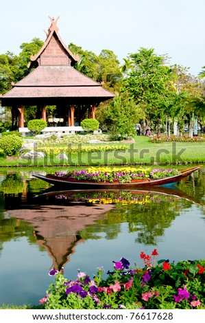 Wonderful Thailand Garden Beautiful Garden in Thailand in the Green zone and Take your time