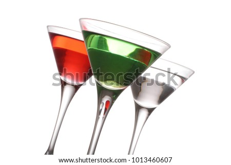Woo woo, Vodkatini and an Appletini trio.  #1013460607