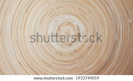 Wood background. Bamboo tree circle texture slice background. Foto d'archivio ©