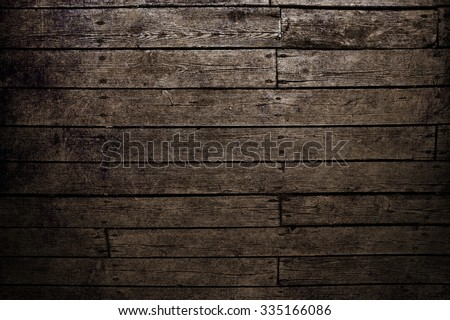 Wood background. Dark brown wood texture.