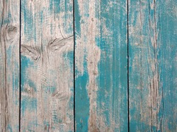 wood background or background from old blue boards