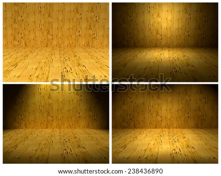 Wood Background Pack 4 Light type