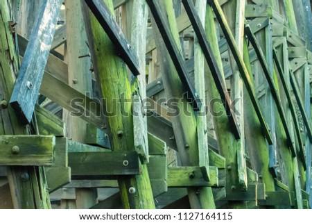 Wood background shapes #1127164115