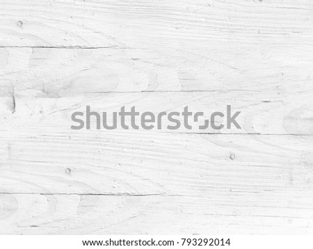 Wood background white - soft light grey floorboard texture with planks Stock photo ©