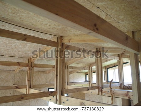 wood beams #737130829
