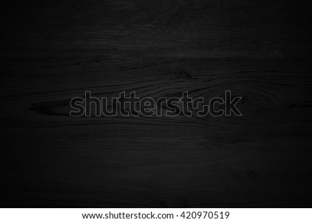 Wood Black background texture. Blank for design #420970519