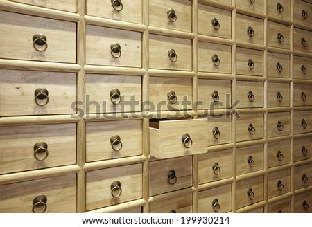 Wood Card File Cabinet Drawers,Elegant interiors