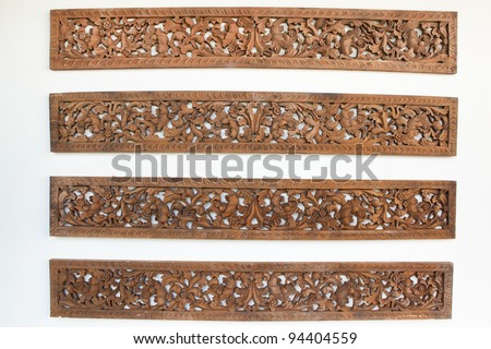 Wood Carving Stock Photo 94404559 : Shutterstock