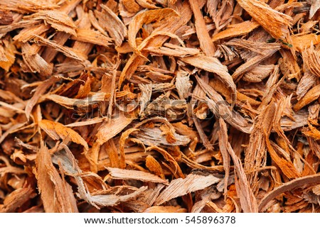 Wood chips can be used, but that does not do anything different.