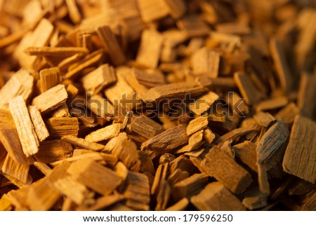 Wood chips for smoking or recycle.