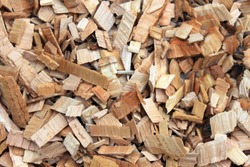 Wood chips for Smoking. Wood texture. Background.