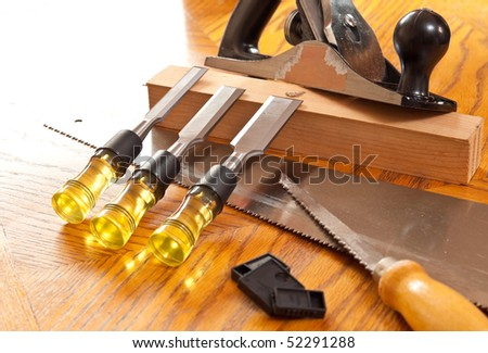 Wood Chisels and Wood Working Tools