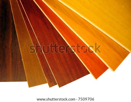 wood color palette