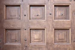 wood door texture close up