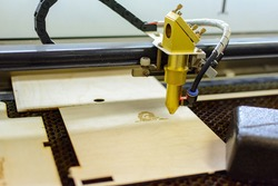 wood engraving laser burning machine, industrial laser cutter, image transfer
