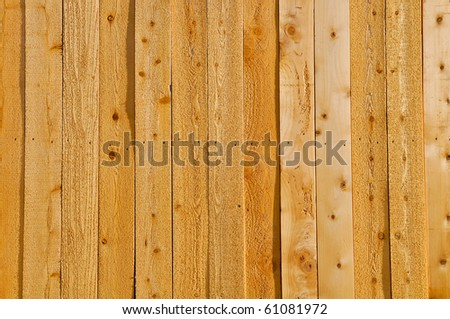 Wood Fence Background