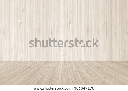 Wood Floor Textured Pattern Background With Wooden Backdrop In Light