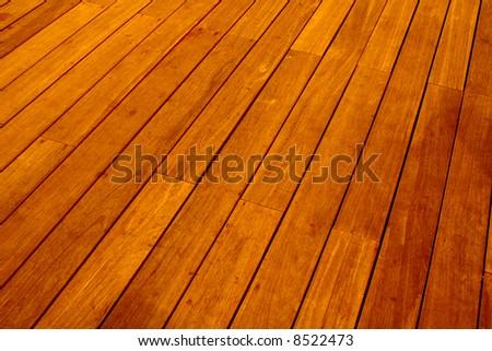 Wood floor tiles - stock photo