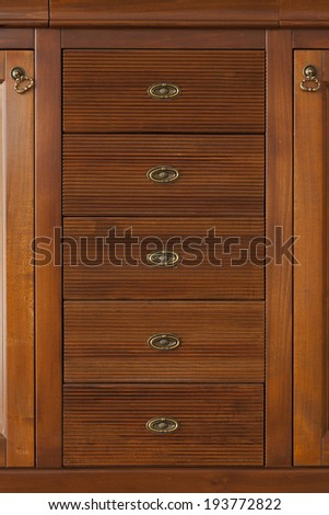 Wood furniture closeup perfect for backgrounds