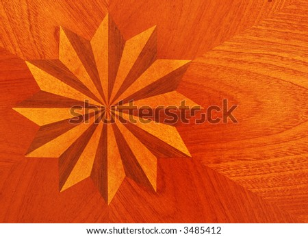 Wood floor medallions, Hardwood Floor Inlays, wood floor borders
