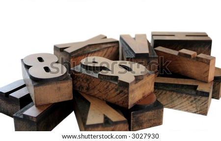 wood letters 1