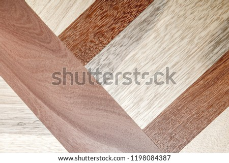Wood - Material, Parquet Floor, Flooring, Hardwood, Textured Effect #1198084387