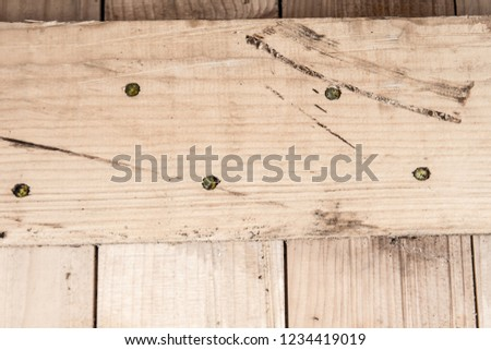 Wood - Material, Parquet Floor, Flooring, Hardwood, Textured Effect #1234419019