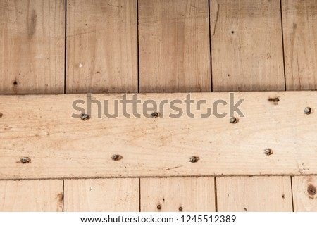Wood - Material, Parquet Floor, Flooring, Hardwood, Textured Effect #1245512389